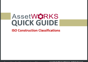 ISO Constrution Classifications Quick Guide