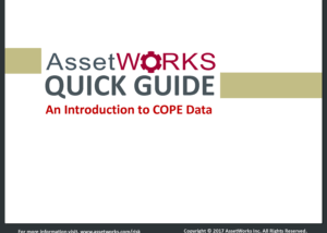 COPE Data quick guide