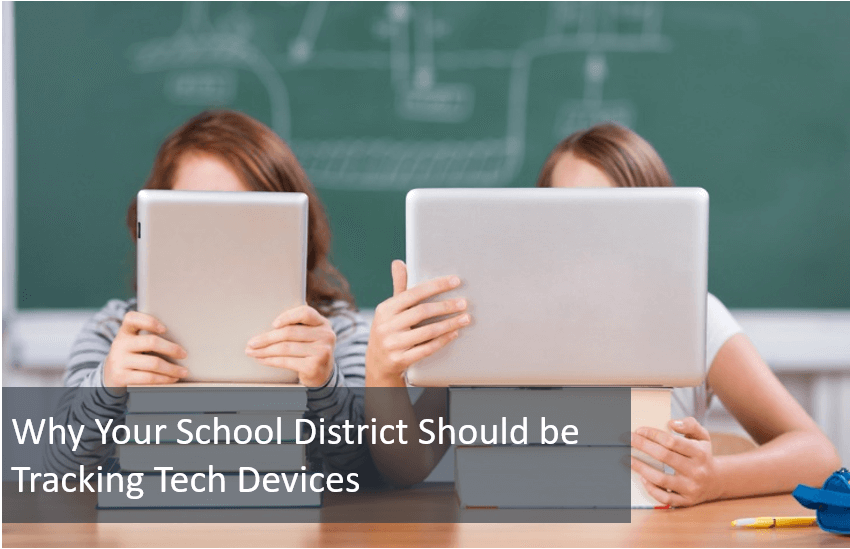 Tracking school tech devices