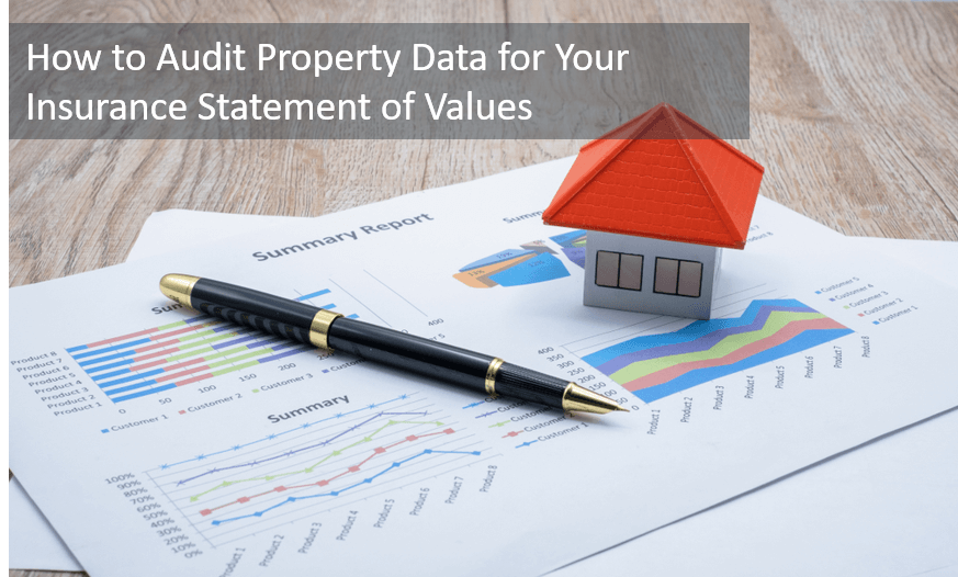 how to audit property data for insurance